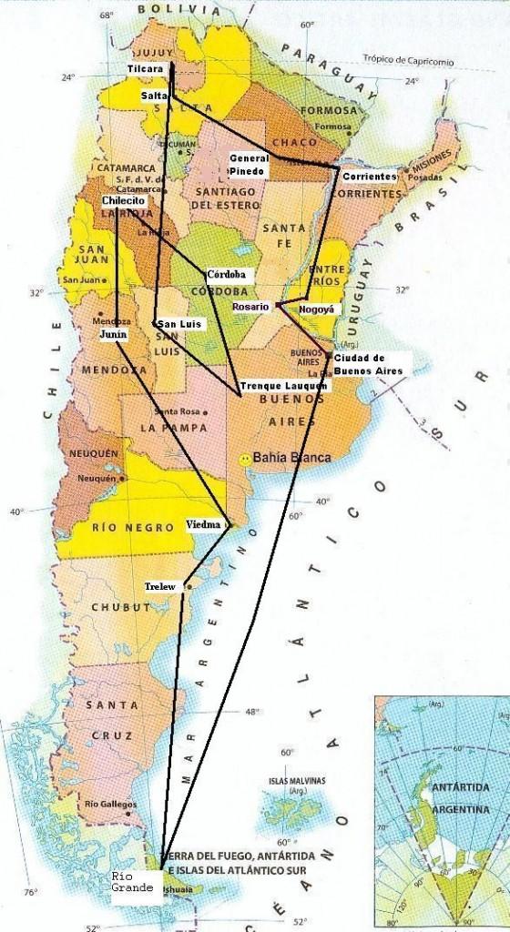 MapaArgentinarete