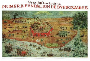 Mappa di Buenos Aires 1953